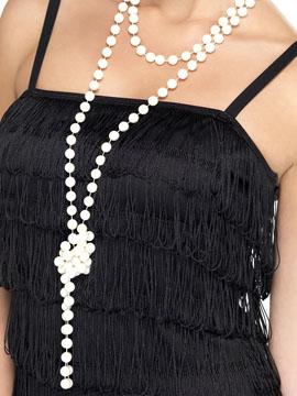 Collar Perlas Marfil