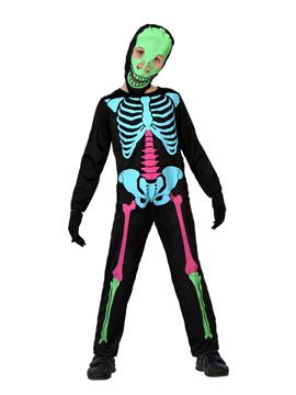 Disfraz Esqueleto Multicolor Infantil