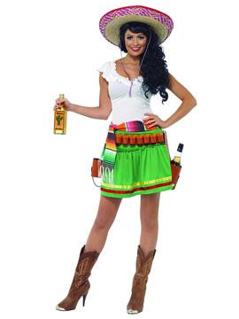 Disfraz Tiradora Tequila Adulto