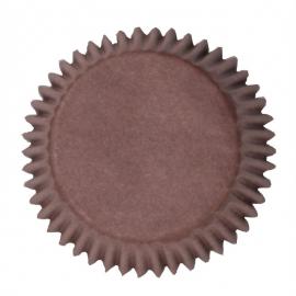Cápsulas para cupcakes color chocolate