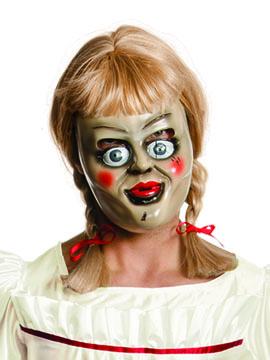 Máscara y Peluca Annabelle Adulto