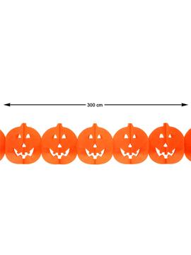 Guirnalda Calabazas Halloween 300 cm