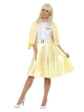 Disfraz Amarillo de Sandy Grease