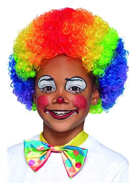 Peluca Payaso Multicolor Infantil