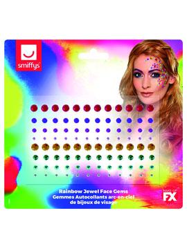 Kit Pegatinas Gemas Multicolor