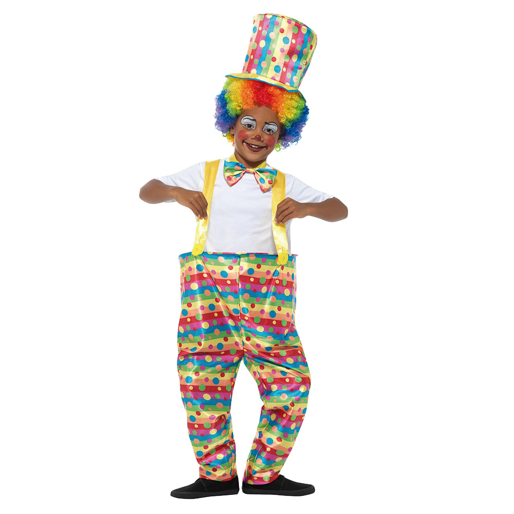 Disfraz Niño Payaso Multicolor Infantil