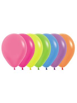 50 globos Neón