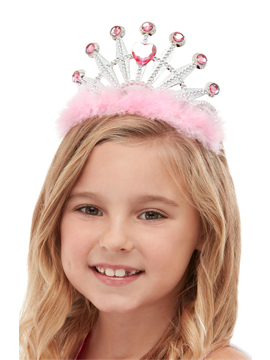 Tiara Princesa Rosa