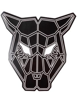 Máscara LED Audio Rítmica Pantera