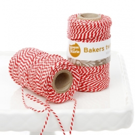 Bakers Twine Rojo 20 mts.