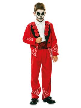 Disfraz Catrín Rojo Infantil