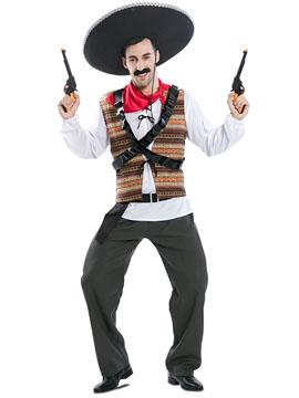Disfraz Pistolero Mexicano Adulto