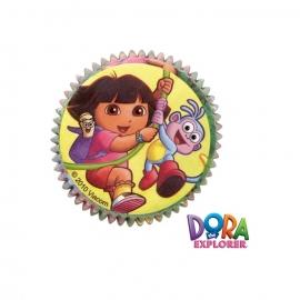 Cápsulas para cupcakes Dora la exploradora