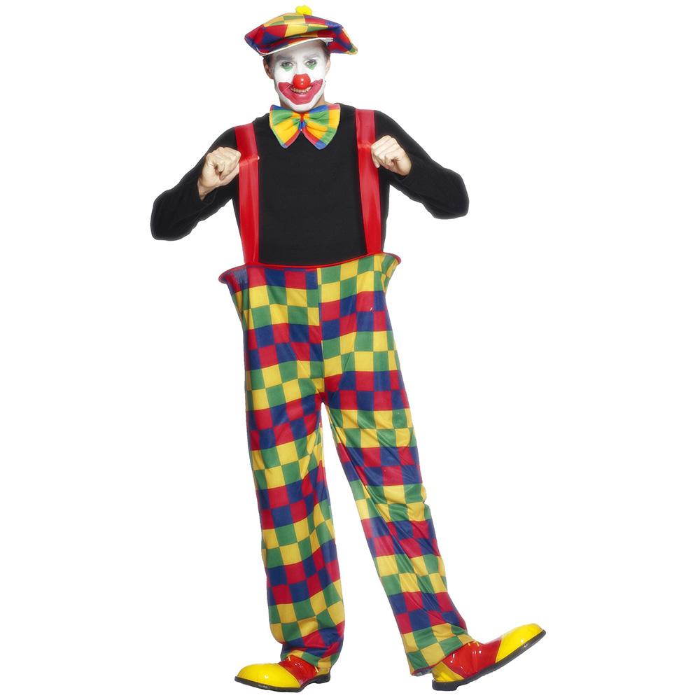 Disfraz Payaso Multicolor Adulto