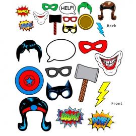 Accesorios para Photocall Superhéroes