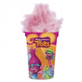 Algodón de azúcar con sorpresa Trolls