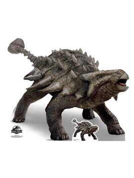 Decoración Photocall Ankylosaurus 120 cm