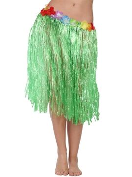 Falda Hawaiana Verde 41 cm