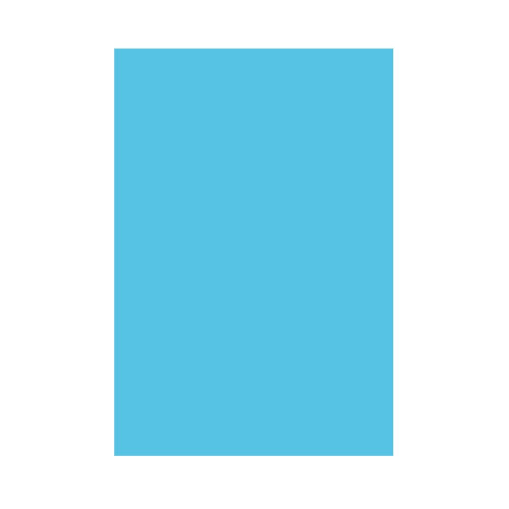 Mantel de Papel Azul Caribe