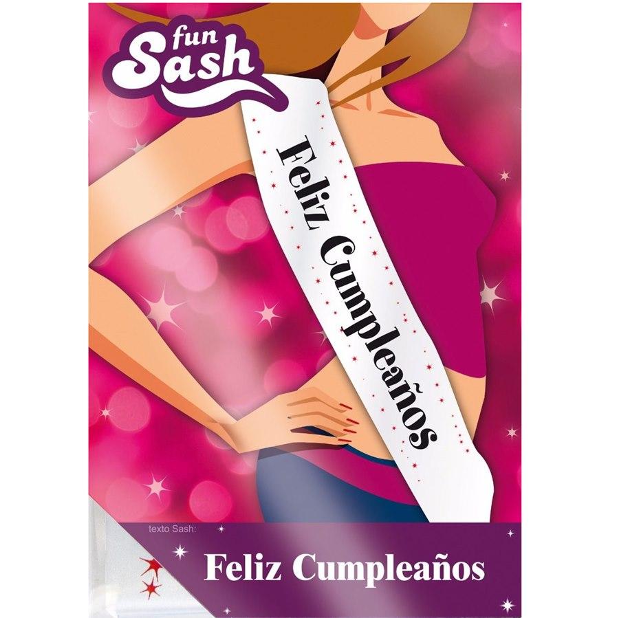 Banda Feliz Cumpleaños Rosa