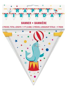 Banderín Circo 3 metros