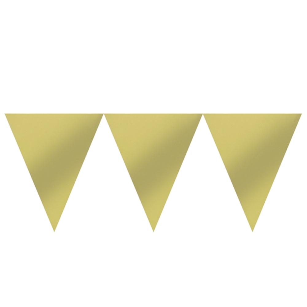 Banderín de Papel Ocre 4,5 metros