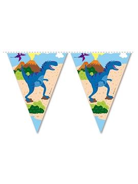Guirnalda de Papel Dino Island