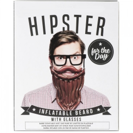 Barba inflable con Gafas