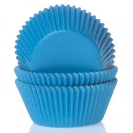 Cápsulas para cupcakes Cyan Blue
