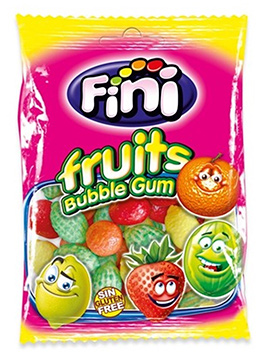 Bolsa de Chicles Frutas 100 gr
