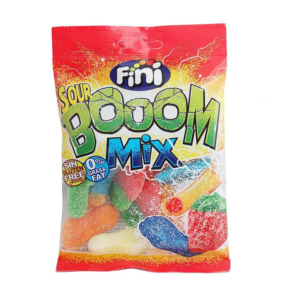 Bolsa de Gominolas Sour Booom Mix