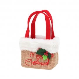 Bolsita Navideña Merry Christmas
