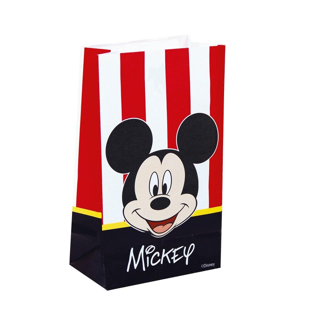 939765ac8 Set de 6 bolsas de papel Mickey Classic. - Comprar Online {Miles de ...