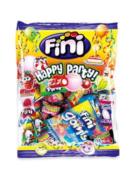 Bolsa de Chuches Envueltas Surtidas Happy Party XL 500 gr