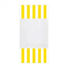 Bolsas para Dulces Amarillas y Blancas