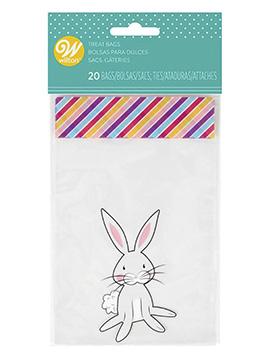 Bolsas para Dulces Conejo 20 Unidades