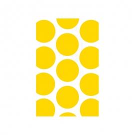 Bolsas para Dulces Lunares Amarillos