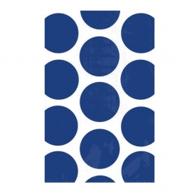 Bolsas para Dulces Lunares Azul Marino