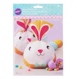 Bolsas para galletas Carita de Conejo - Miles de Fiestas