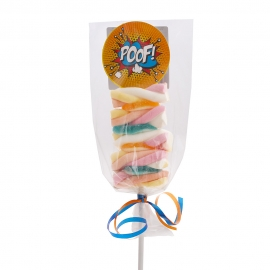 Brocheta de Chuches Superhéroe POOF!