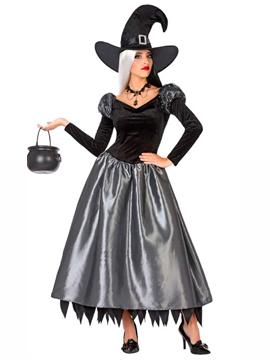 Bruja Elegante Negro y Gris