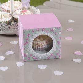 Juego 5 Cajas para 1 Cupcake Frills & Spills