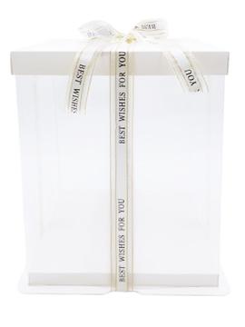 Caja para Tarta Deluxe Blanca 33,5 cm