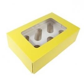 Caja para 6 cupcakes Yellow