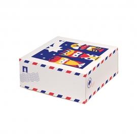 Caja de Roscón de Reyes modelo Carta 32 cm