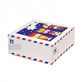 Caja de Roscón de Reyes modelo Carta 35 cm