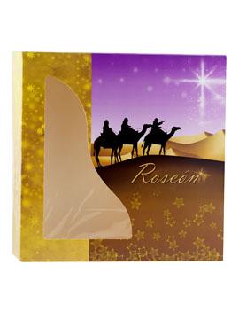 Caja para Roscón de Reyes Modelo B 29 cm