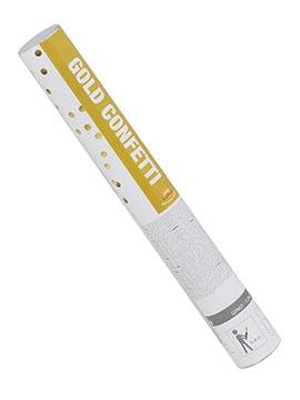 Cañón de Confeti Dorado 39 cm
