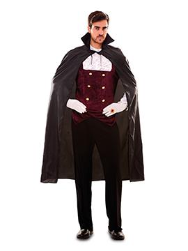 Capa Negra Vampiro Adulto