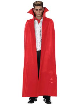 Capa Vampiro Roja Adulto